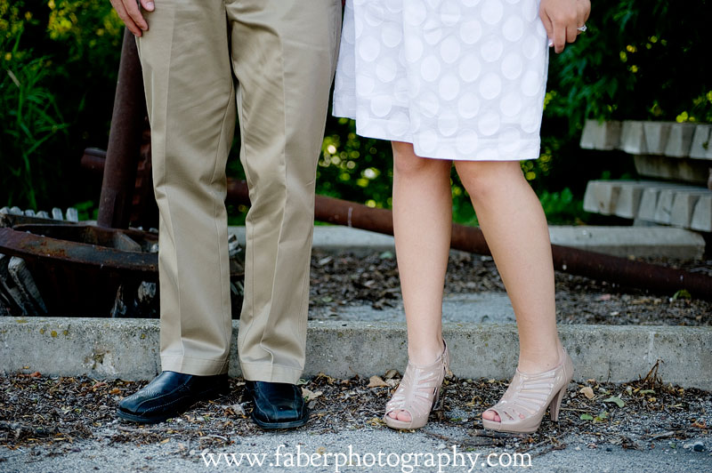 West Bend WI Engagement Photography