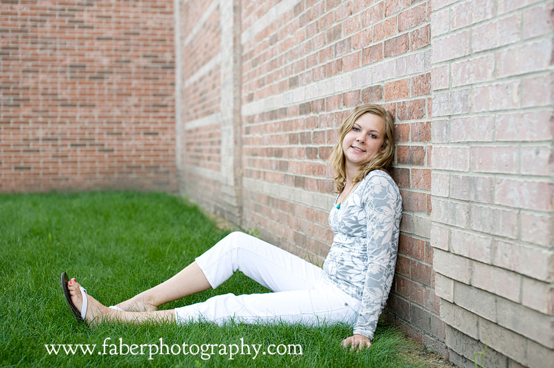 West Bend Wisconsin Senior Portrait Photographer