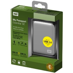 Western Digital 1TB Backup Hard Drive