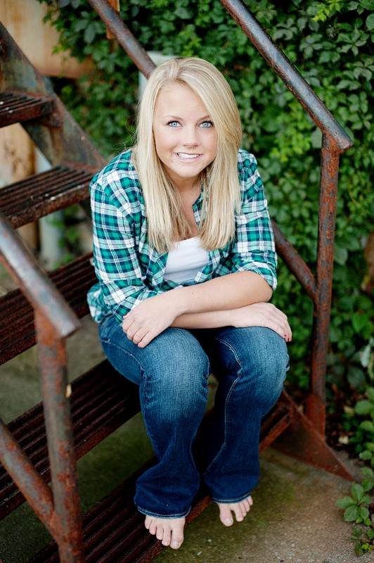 West Bend Senior Portrait Photographer Faber Photography