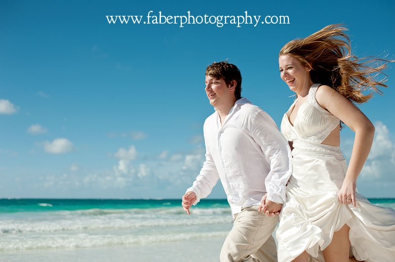Gran Bahia Principe Tulum Trash the Dress Photographer Faber Photography