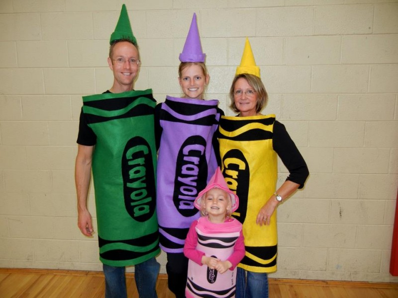 Homemade Crayon Costumes Faber Photography