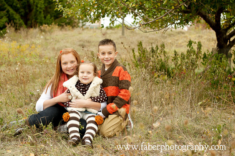 West Bend WI Fall Family Portrait Photographer Faber Photography