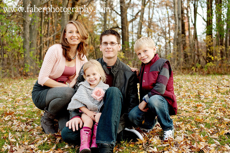 West Bend Fall Family Portraits Faber Photography