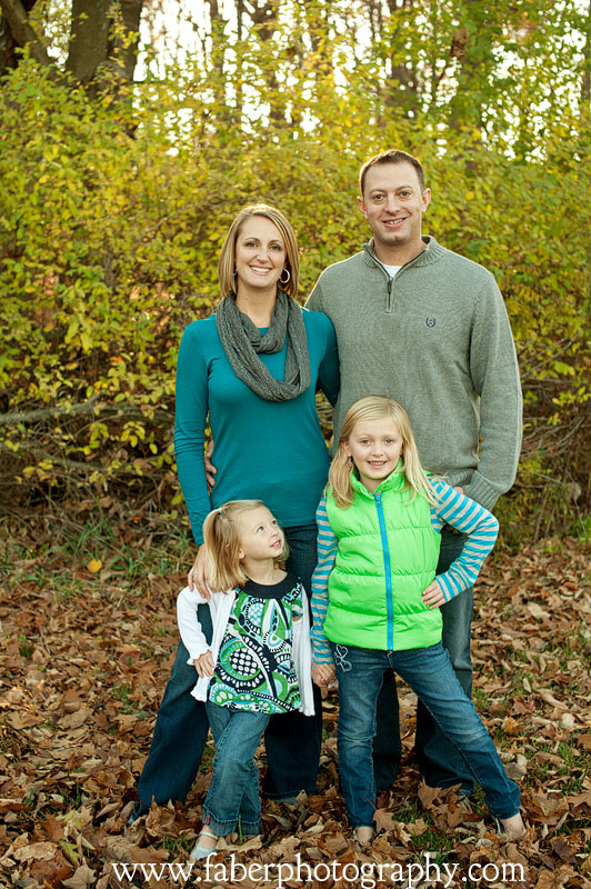 West Bend WI Fall Family Portraits Faber Photography