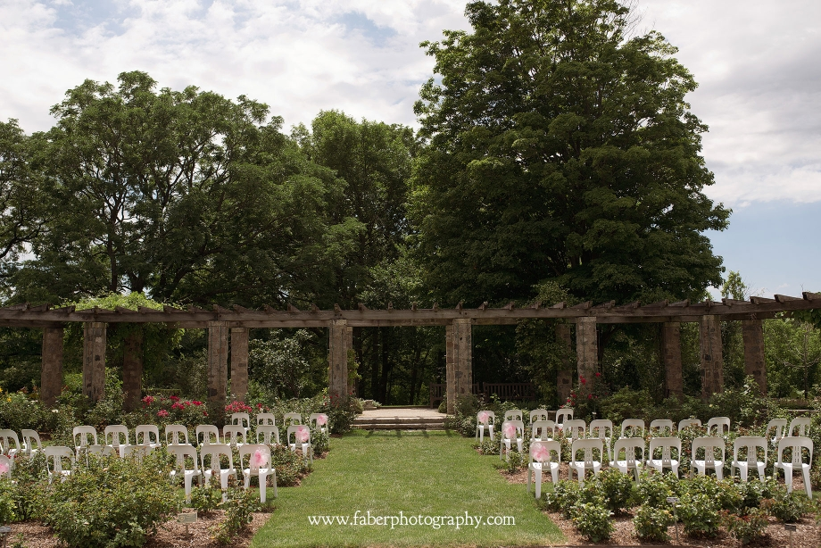Boerner Botanical Rose Garden Wedding