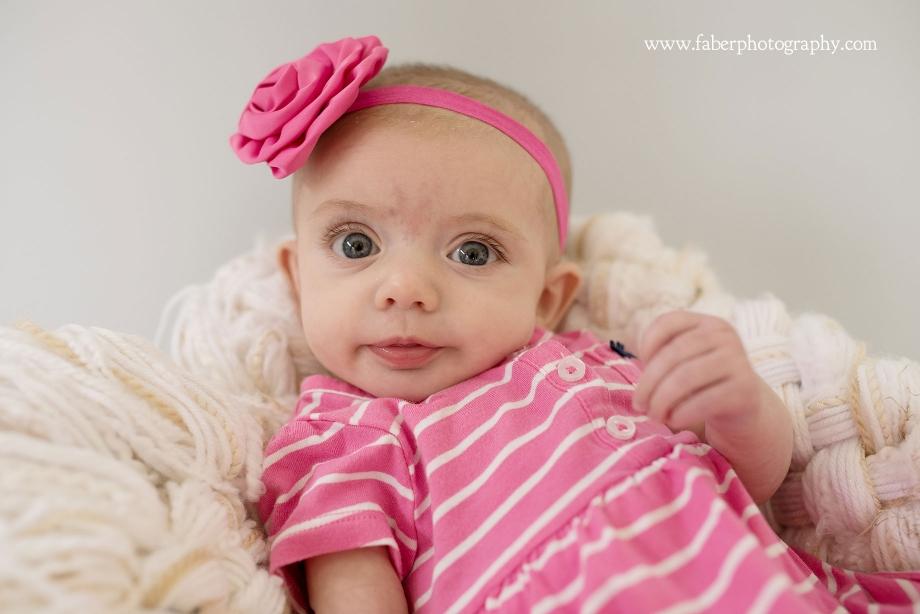West Bend Portrait Studio 3 Month Baby Photos