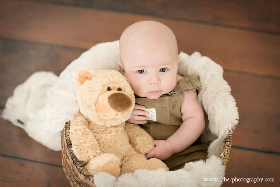 3 Month Baby Studio Portraits