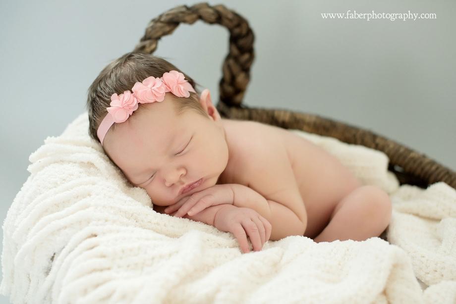 West Bend WI Newborn Photography Studio Sleepy Baby Newborn Photos