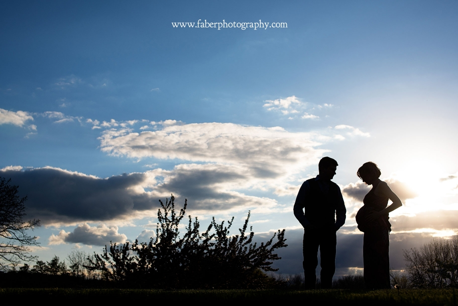 Boerner Botanical Gardens Maternity Session