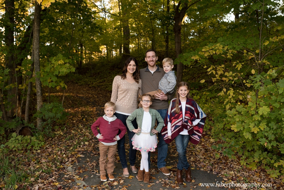 Wisconsin Fall Family Photos