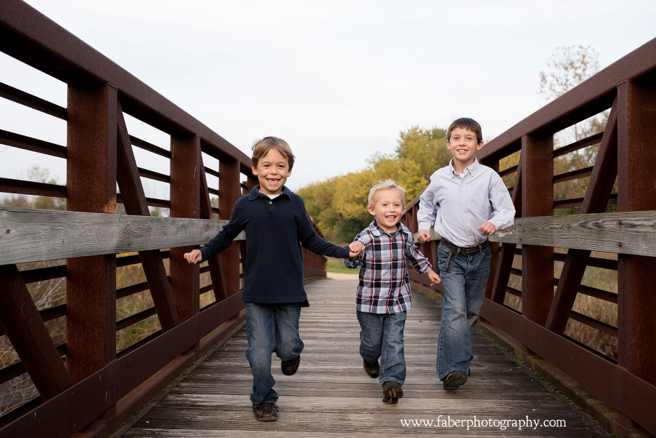 West Bend WI Fall Family Portraits